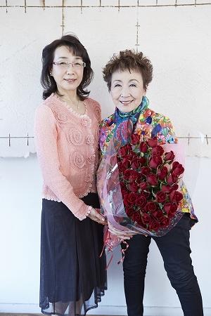 加藤登紀子さんと対談写真2